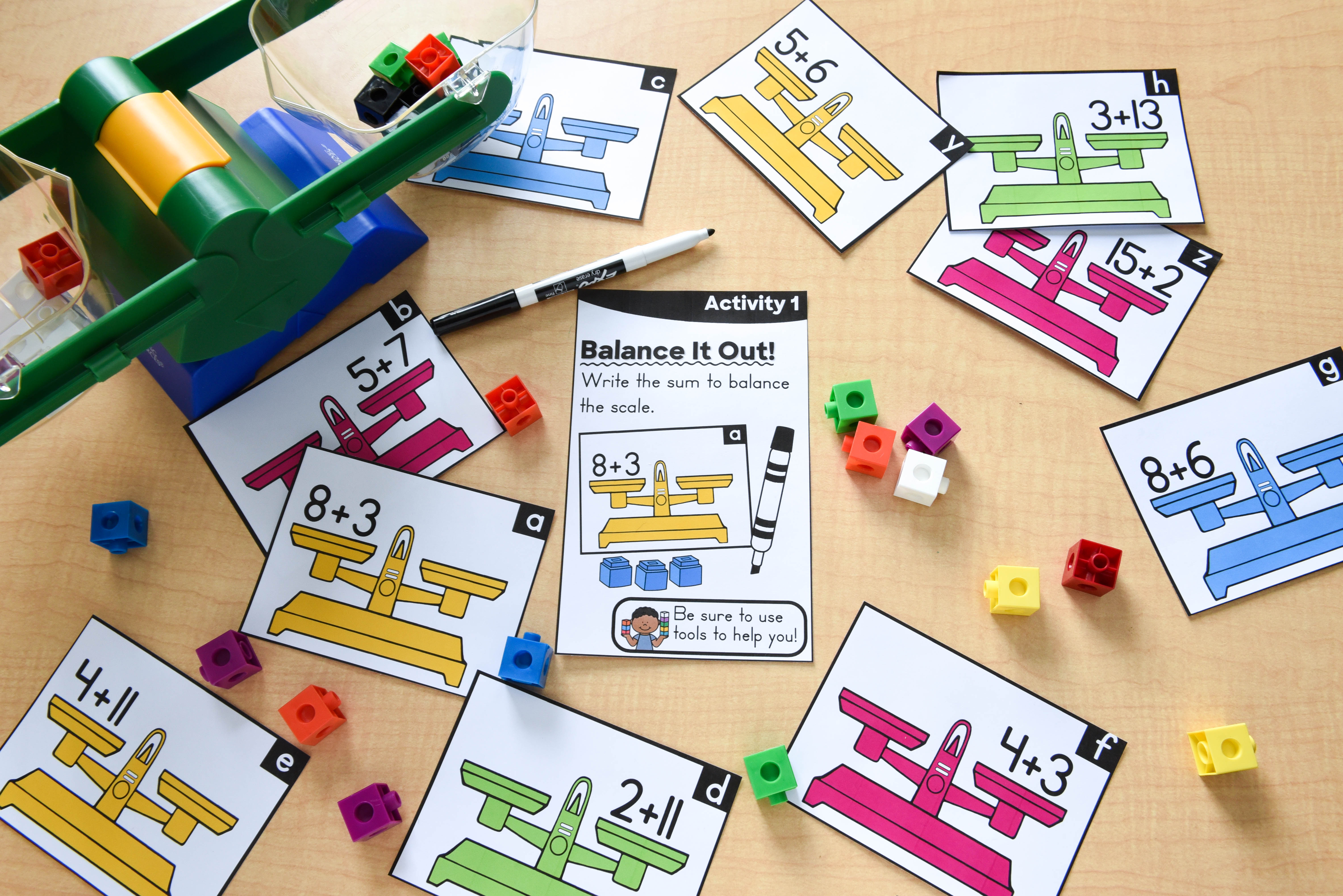 Hands-On Math Picture
