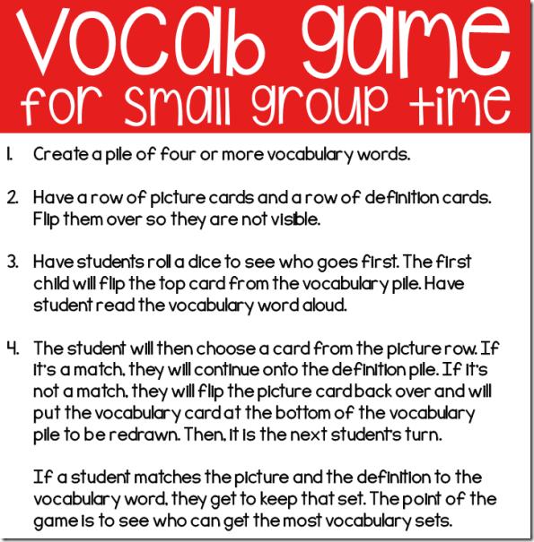 vocab game