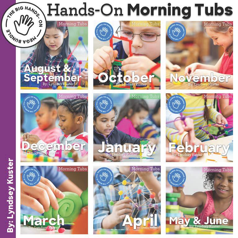 Hands-on morning tubs morning work bundle