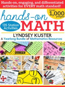 Hands-on math bundle