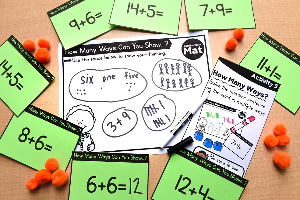 Engaging hands-on math activities