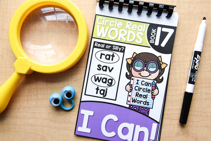 Circle real words