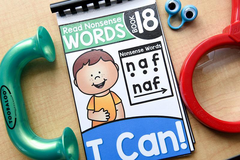 Read nonsense words
