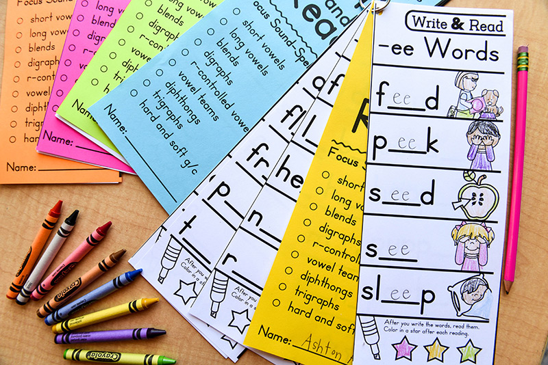 One book for each student with all sound-spellings