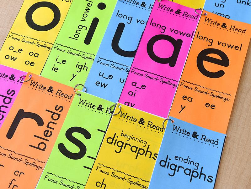 One phonics book for every sound-spelling