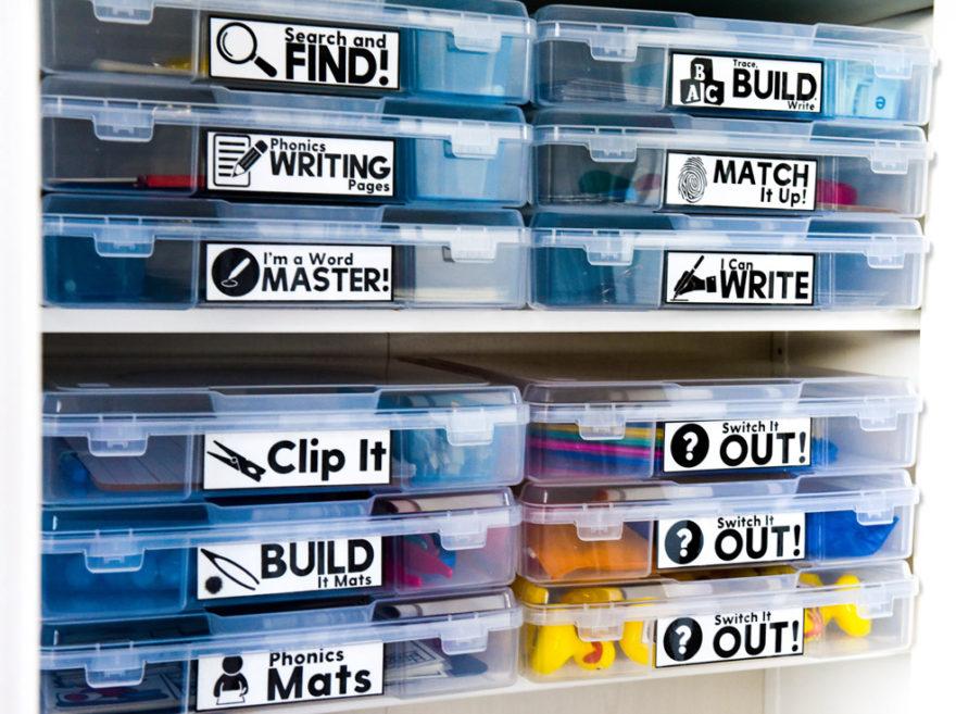 Word work space