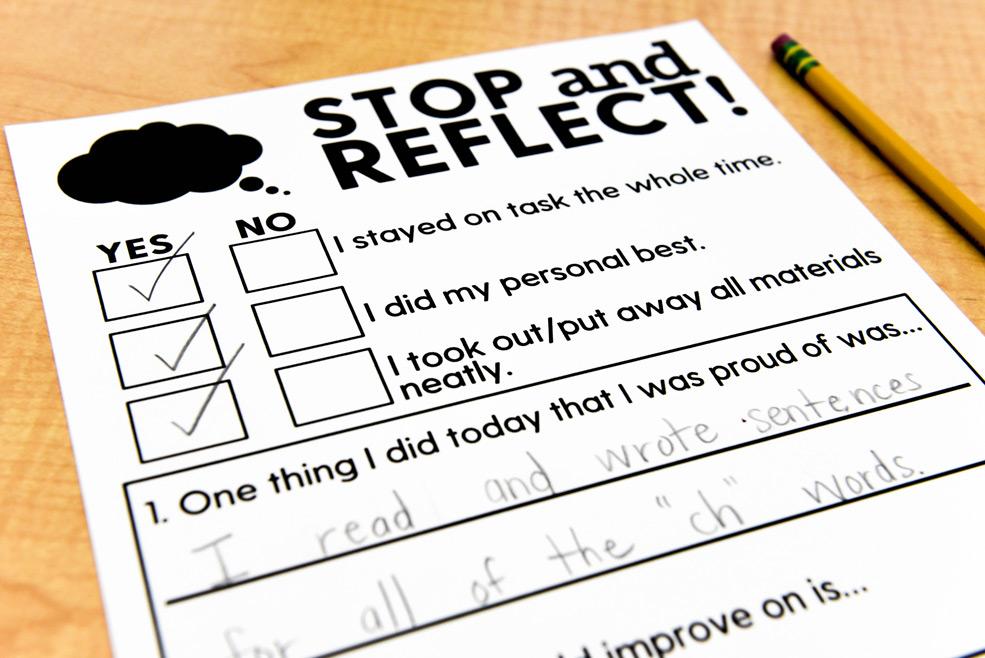 Reflection log