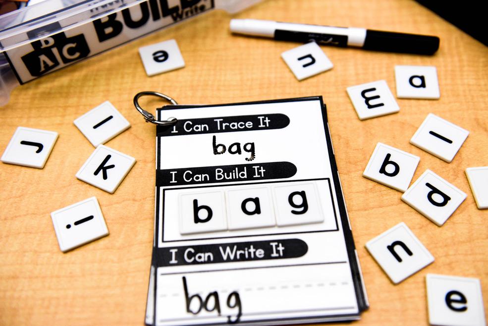 Trace, build, write activity
