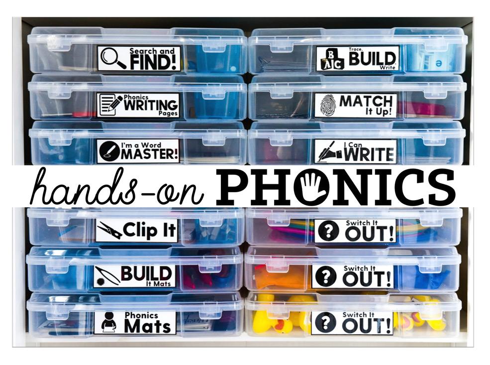 Hands-on phonics for phonics instruction