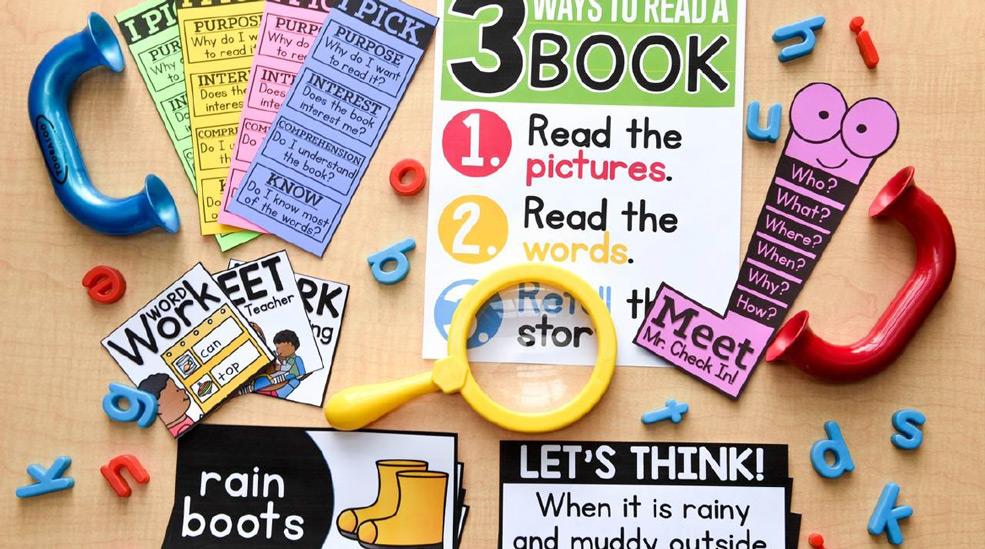 Hands-on literacy bundle