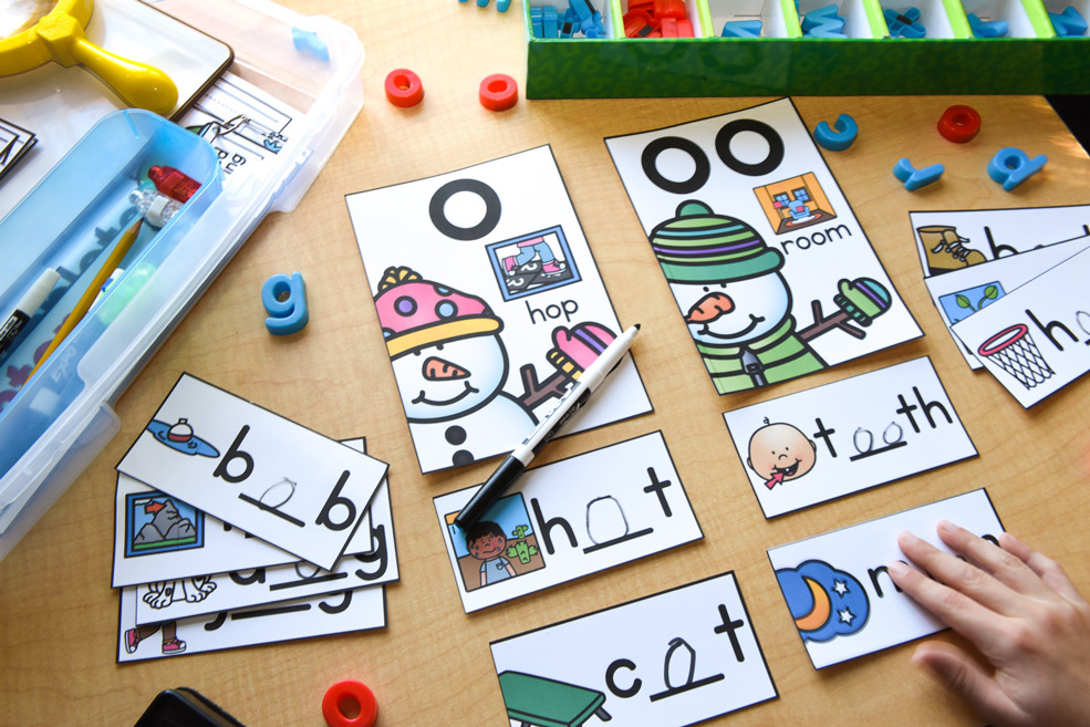 Sorting words by sound-spelling