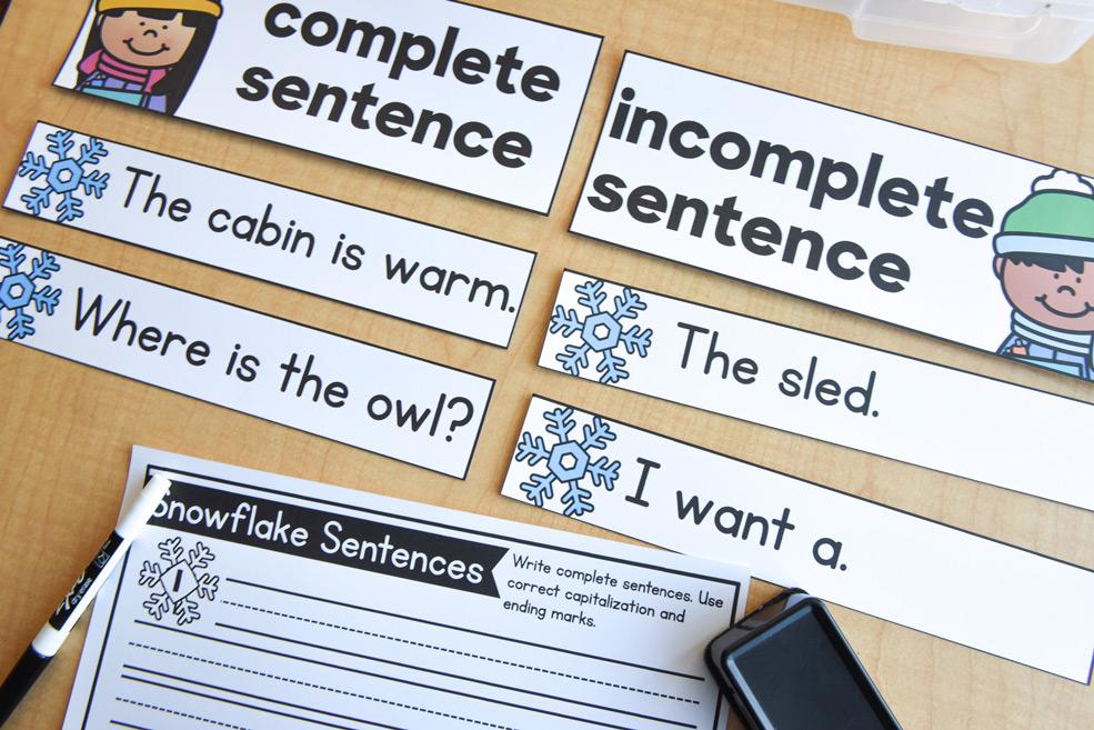 Matching sentences