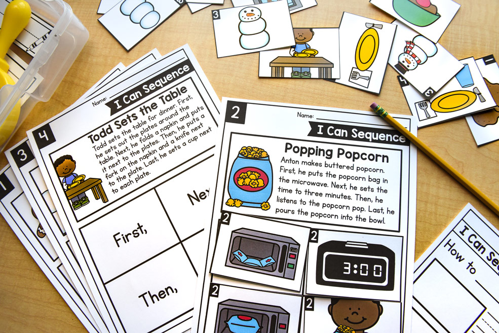 Sequencing events activity