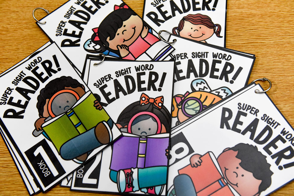 Super sight word readers