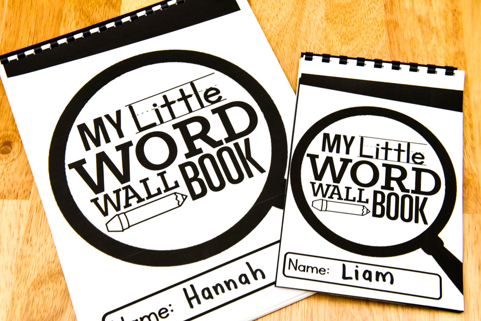 My little word wall book