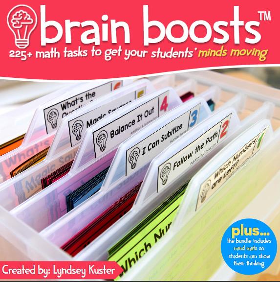 Brain boosts number talk bundle