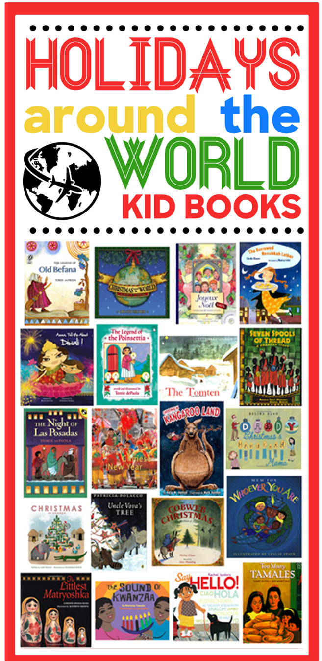 Holidays around the world kid books